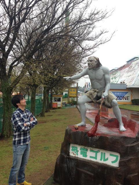 恐竜ゴルフ社長.JPG